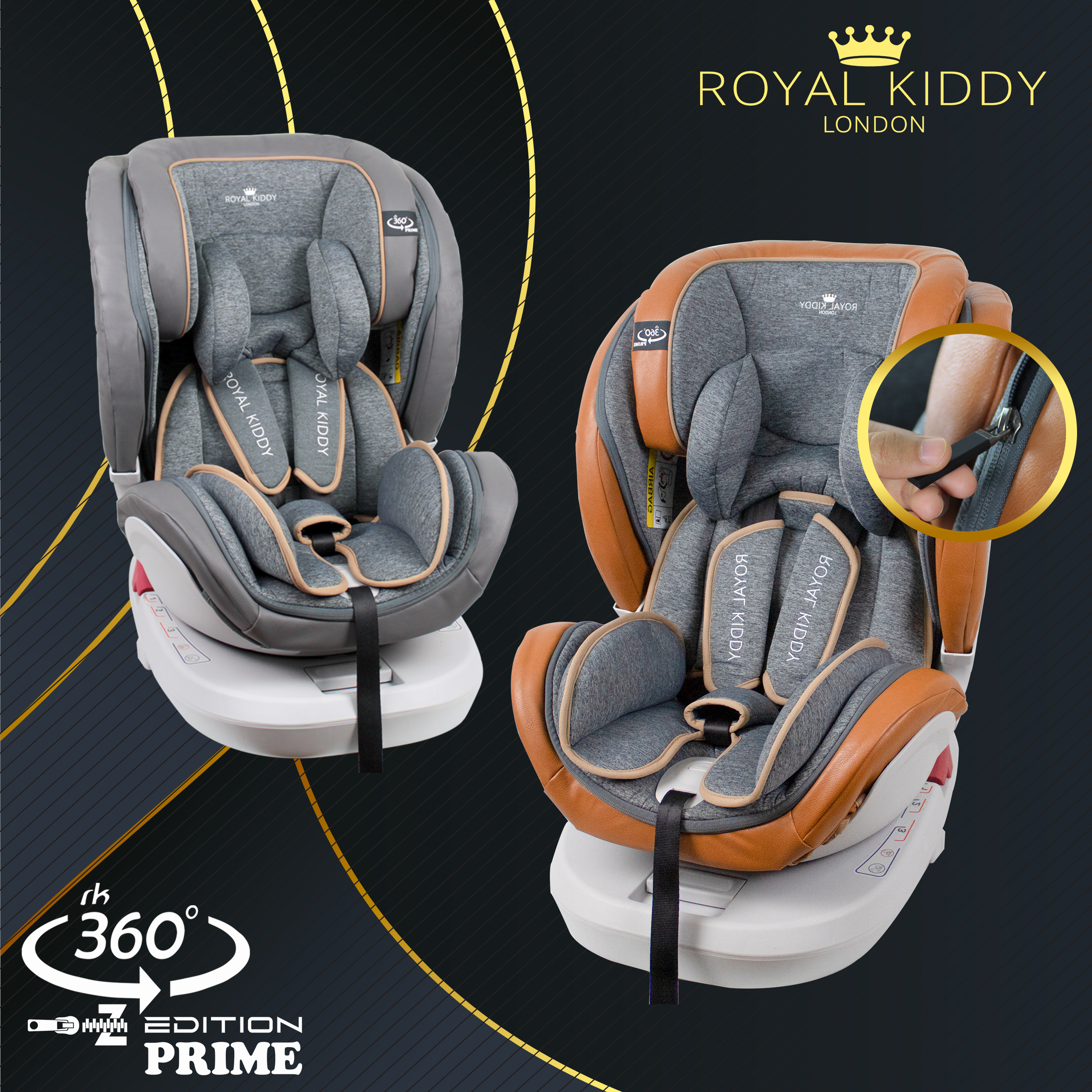 (NEW PRODUCT) RK 360 PRIME Z EDITION Carseat