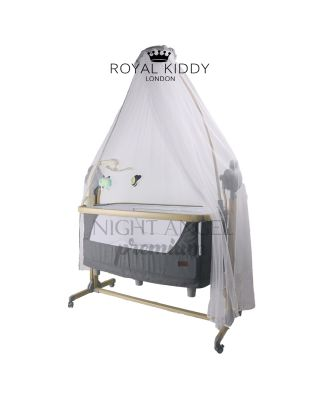 RK 5 IN 1 NIGHT ANGEL PREMIUM AUTO SWING BEDSIDE COT