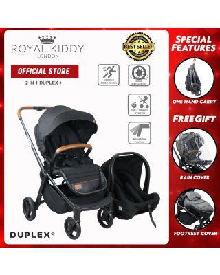 Duplex Plus Travel Sytem - Black