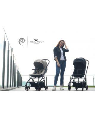 Royal Kiddy 360 Onyx Stroller + 3 in 1 Night Angel Baby Cot