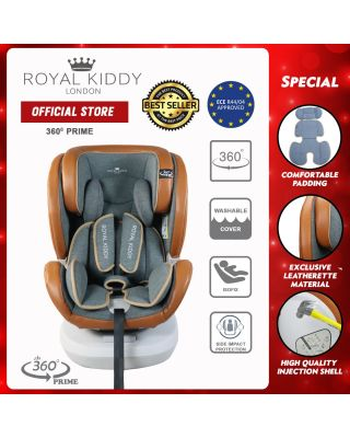 RK 360 Prime Isofix Carseat-Brown