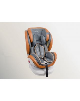 (PREORDER) RK 360 PRIME Z EDITION ISOFIX CARSEAT - BROWN
