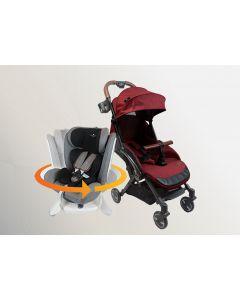 Air Transporter Xtra Lightweight + 360 Beyond ISOFIX Car Seat