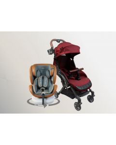 Air Transporter Xtra Lightweight + 360 Prime ISOFIX Car Seat