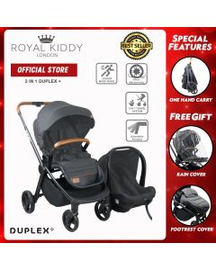 Duplex Plus Travel Sytem - Grey