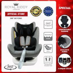 RK 360 Beyond Isofix Carseat-Grey