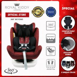 RK 360 Beyond Isofix Carseat-Red